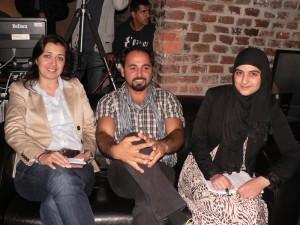 Die Talkgäste: Mürvet Öztürk (MdL), Ali Bulut, Rumeysa Altinküpe