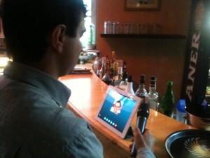Skype Kontakt mit Istanbul