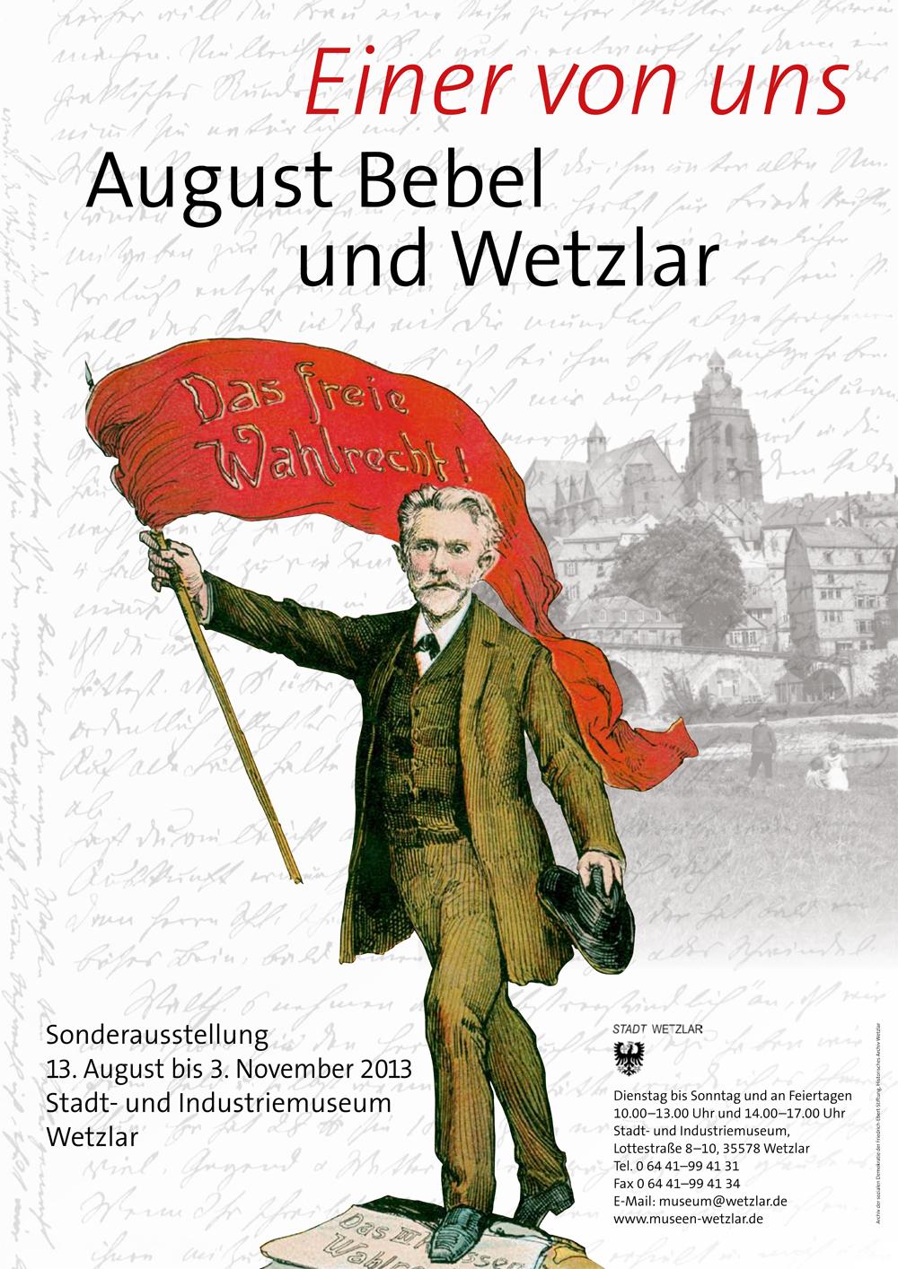 August Bebel und Wetzlar