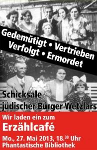 Schicksale jüdischer Bürger Wetzlars