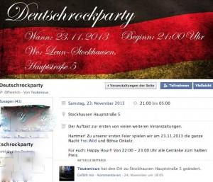 Veranstaltungswerbung über Facebook