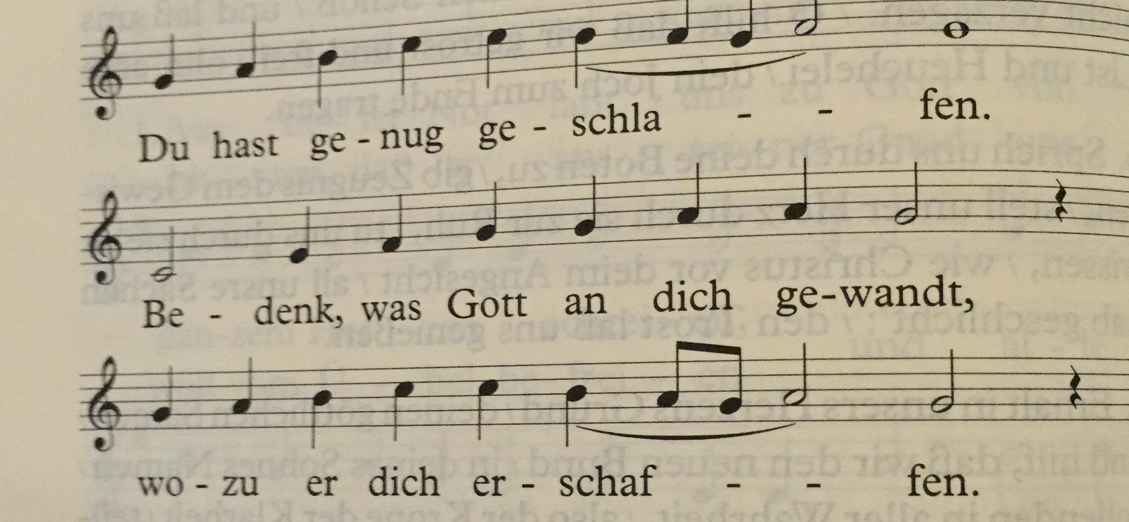 liedblatt
